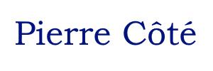 Pierre Côté – Développeur web